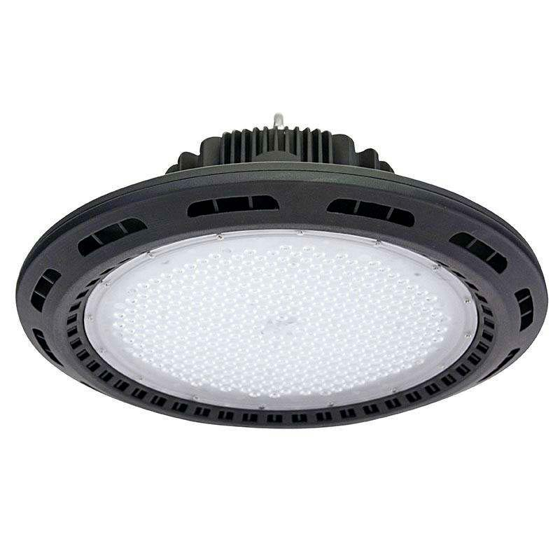 Campana industrial UFO 240W CREE led + MeanWell driver, Blanco frío